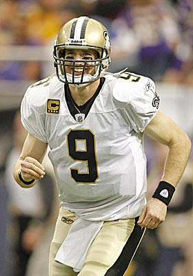 Drew Brees hasn't lost at home this season, where he'll likely break Dan Marino's mark for passing yards on Monday night. (US Presswire)