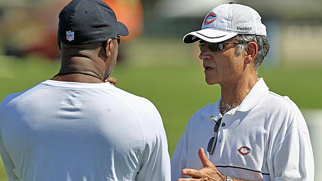 Lovie Smith and Jerry Angelo have produced a solid era for Chicago. (Getty Images)