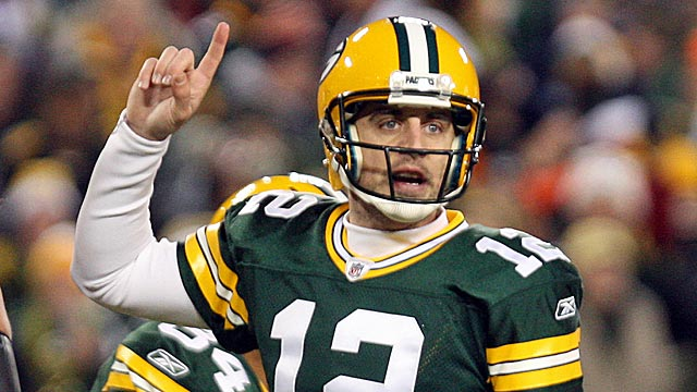 Yes, Aaron Rodgers, nobody's disputing the fact that you are No. 1 this season. (US Presswire)