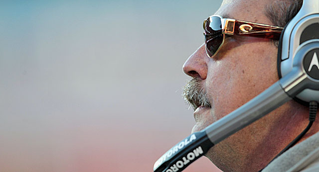 Keep him away from personnel and Jeff Fisher is a great choice to rehab your team. (Getty Images)