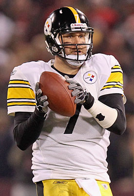A gimpy Ben Roethlisberger is better than the alternative for the Steelers. (Getty Images)