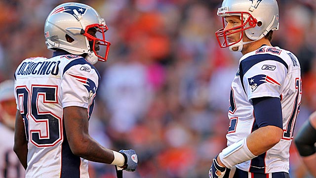 The Patriots insist Tom Brady trusts Ochocinco, but the numbers say otherwise. (Getty Images)