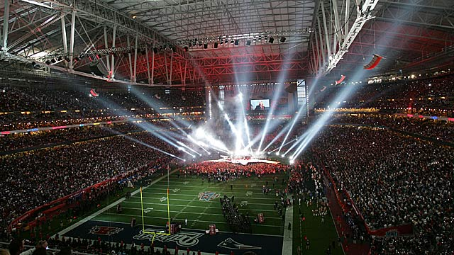 The prevailing storylines will sparkle like Super Bowl XLII spotlights. Or not. (Getty Images)