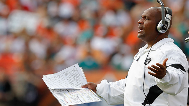 The firing of Hue Jackson continued a negative trend for black coaches, or is it just coincidence? (Getty Images)