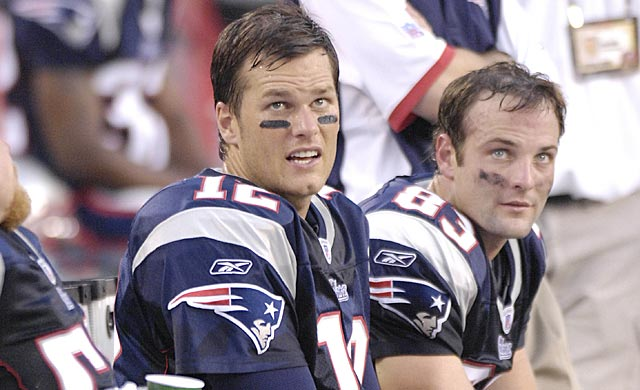 Tom Brady is a frequent target of Wes Welker's humorous tweets. (US Presswire)