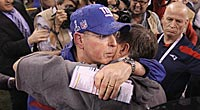 Tom Coughlin, Bill Belichick post 46 200 (Getty Images)