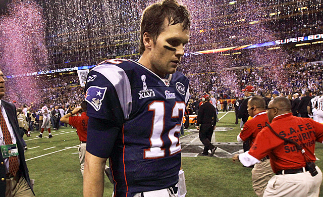 Tom Brady may be one of the NFL's best, but he allowed the Giants to get into his head once again. (AP)