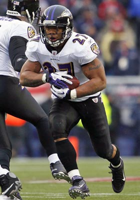 The Ravens could slap the franchise tag on Ray Rice, who still has plenty of mileage left at 25. (US Presswire)