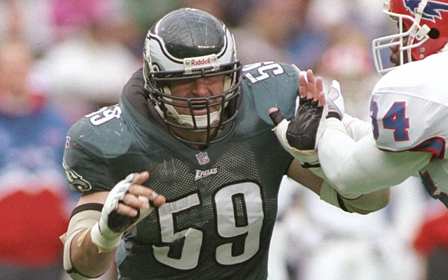 Mike Mamula cost the Eagles two picks the Bucs turned into two consistent Pro Bowl defenders. (Getty Images)