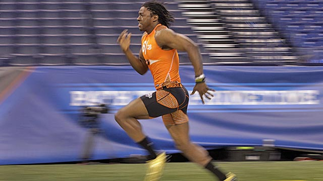 Griffin runs the 40 fast and answers questions well, but can he win in the NFL? (AP)