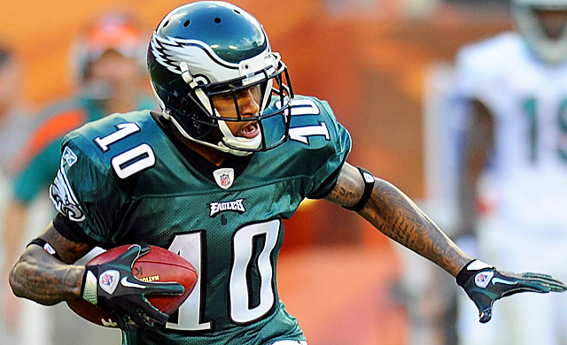 DeSean Jackson may be a lot of things, but a gang member doesn't appear to be one of them. (USATSI)