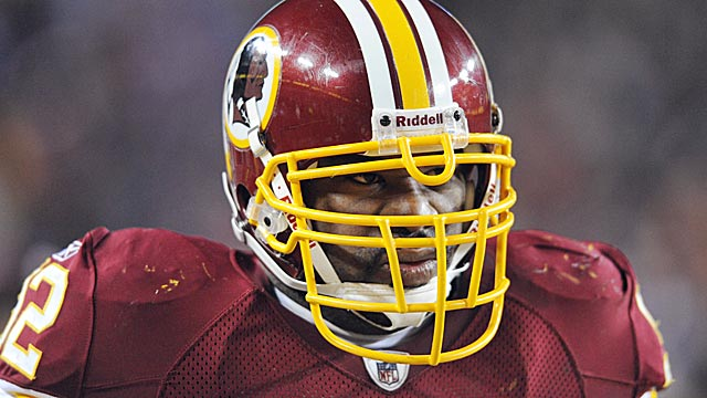 Albert Haynesworth has become the ultimate free-agent cautionary tale. (US Presswire)