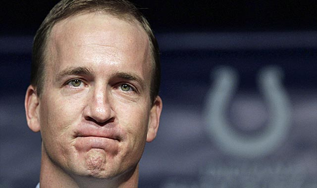 Peyton Manning hitting the market shuffles every free-agent board. (AP)