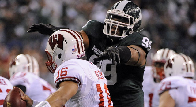 Jerel Worthy didn't have a great combine, but when it counts, he's tough to handle. (US Presswire)