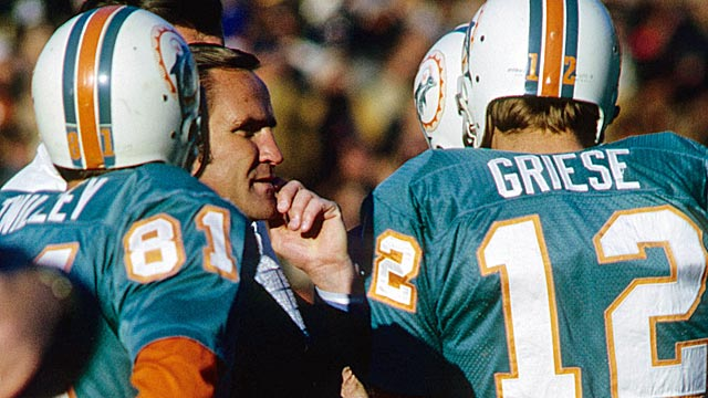 Don Shula and Miami's perfect season are in sharp contrast to the current mess. (US Presswire)