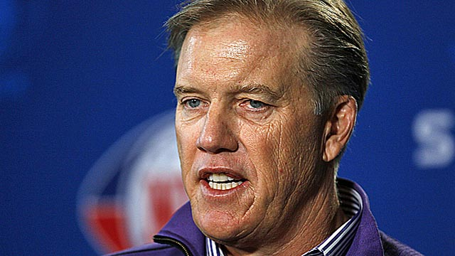 John Elway risks his legacy on a go-for-broke deal. (US Presswire)