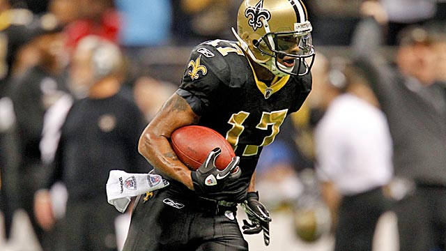 Robert Meachem replaces Vincent Jackson in San Diego, leaving the Saints with a big hole. (U-Wire)