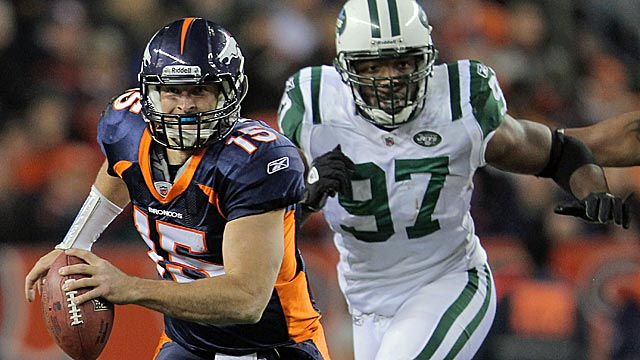 Tim Tebow could win games for the Jets instead of beating them as he did in 2011. (Getty Images)