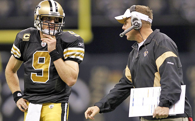 Causes for concern: Drew Brees' contract issues, Sean Payton's year-long suspension. (US Presswire)