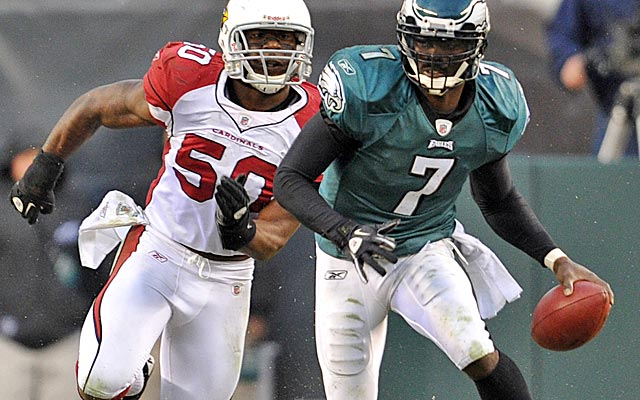 After last season, Reid says Vick is now in the right frame of mind to avoid unnecessary hits. (US Presswire)