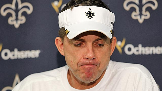 Payton's NFL-imposed suspension is slated to begin Sunday. (AP)