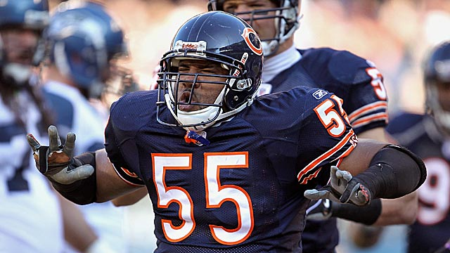 Lance Briggs, like longtime teammate Brian Urlacher, could use more young talent around him. (Getty Images)