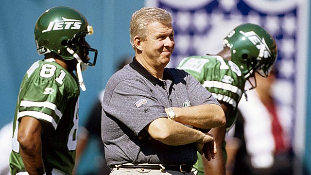 Bill Parcells has not coached a team to a playoff win since the 1998 Jets. (US Presswire)
