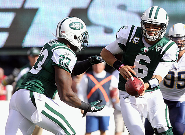 Shonn Greene hasn't been the feature back the Jets hoped for when they made him a starter. (US Presswire)