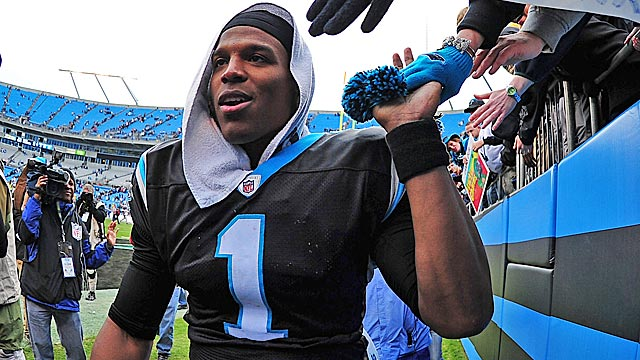 Newton's play as a rookie silenced the doubters who questioned his credentials as the top pick. (Getty Images)