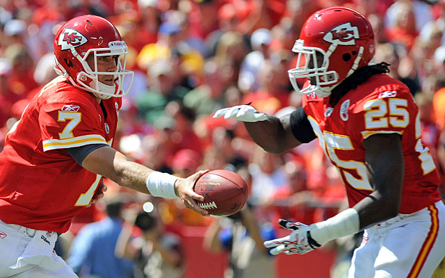 Injuries to Matt Cassel and Jamaal Charles derailed the Chiefs' AFC West title defense. (US Presswire)