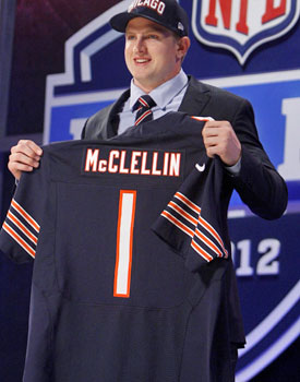Shea McClellin gives the Bears the outside pass-rusher they need. (US Presswire)