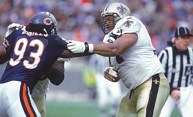 Roaf, a Saint from 1993-2001, wonders why millionaires would get involved in a bounty system. (Getty Images)