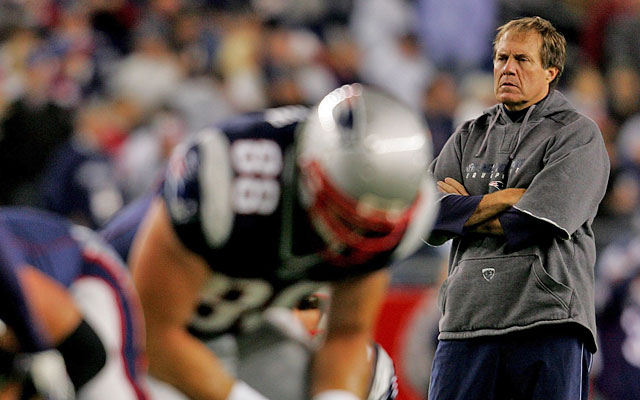 The Pats won 75 games and three Super Bowls under Bill Belichick before the team was caught. (Getty Images)