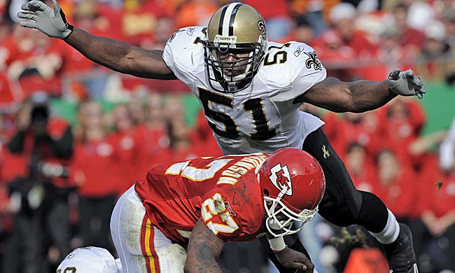 Jonathan Vilma did damage, but as much as Saints coach Sean Payton? (AP)