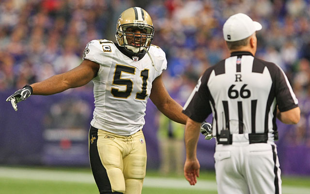 Jonathan Vilma and the other suspended players are paying the price for their bounty misdeeds. (US Presswire)