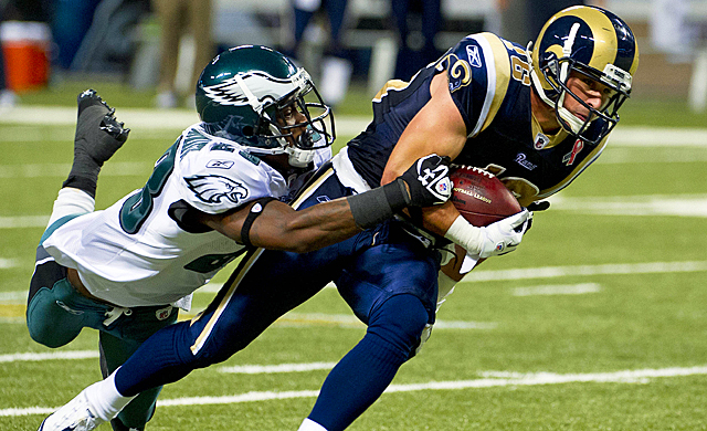 The Rams have eight wide receivers on their roster, which means Amendola could be expendable. (US Presswire)