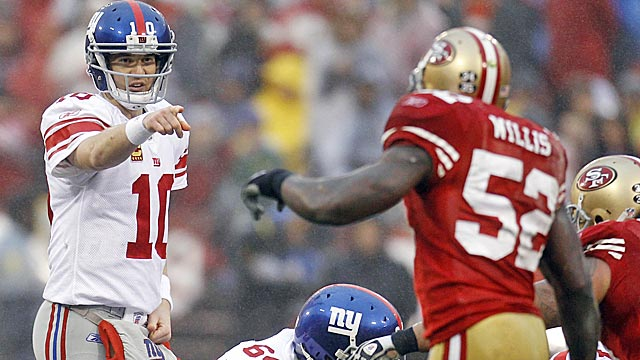 The Giants look to have staying power, but Prisco says don't be surprised if the 49ers regress. (US Presswire)