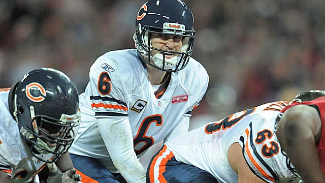 With a healthy Jay Cutler, the Bears should challenge the Lions and Packers in the NFC North. (Getty Images)