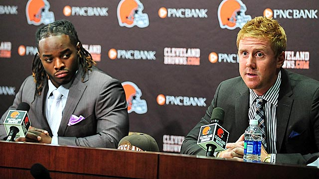 The Browns will need Trent Richardson and Weeden to energize an offense with little life. (US Presswire)
