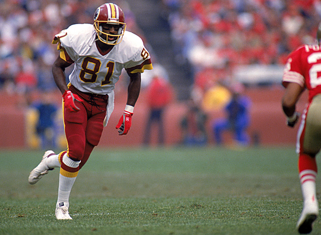 HOF WR Art Monk, pictured here in 1991, leads one of several lawsuits filed against the NFL. (Getty Images)