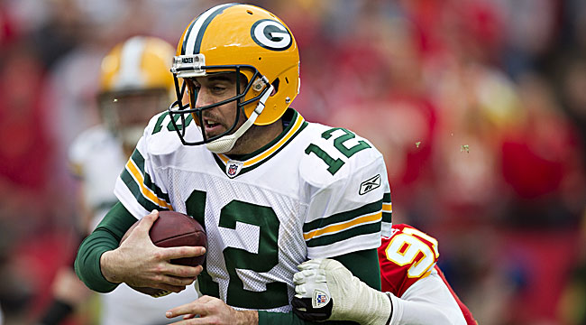 Rodgers led the Packers to a stellar regular-season record en route to MVP honors. (Getty Images)