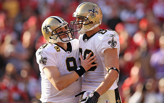 Drew Brees and Jimmy Graham will present problems for Seattle. (Getty Images)