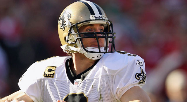 The Saints and Pro Bowl QB Drew Brees are still negotiating terms for a new contract. (Getty Images)