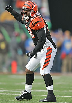 Webster played for the Bengals in 2004-05. (Getty Images)