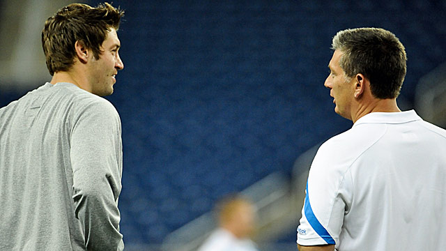 Bears QB Jay Cutler and Lions coach Jim Schwartz both earn a place on the list. (US Presswire)
