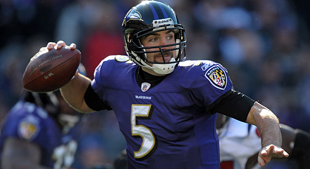 If Joe Flacco plays like he did in the AFC title game, the Ravens have a chance of reaching the Super Bowl. (AP)
