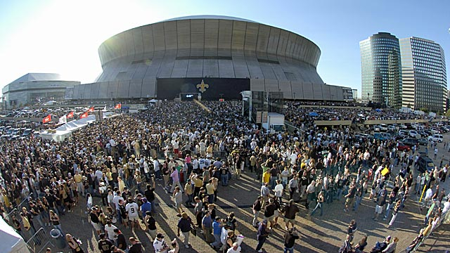 How will the NFL keep the crowds, like this one in New Orleans, coming back for more? (Getty Images)