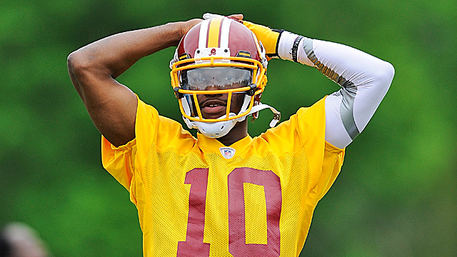 How quickly does Robert Griffin III grasp Washington's complex offense? (Getty Images)