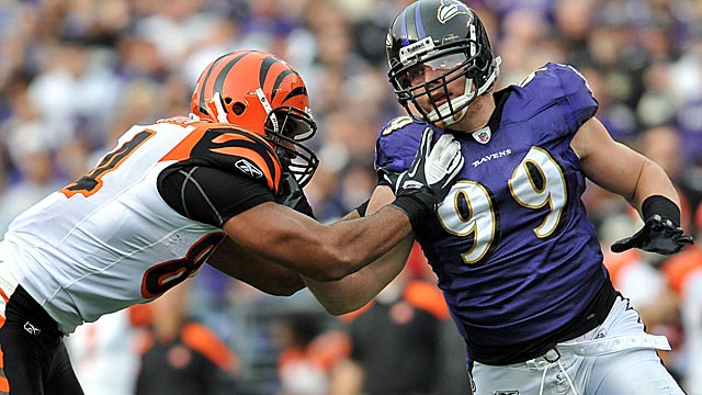 The Bengals start tough with the division nemesis Ravens but then catch a break. (Getty Images)