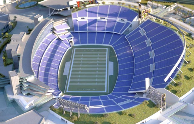 This could be the stadium of the next L.A. NFL team, if there ever is one. (USATSI)